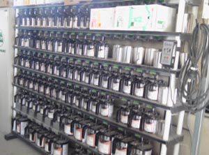 ロックペイント 環境対応一液ベースコート塗料導入