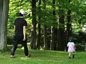 公園に行きました