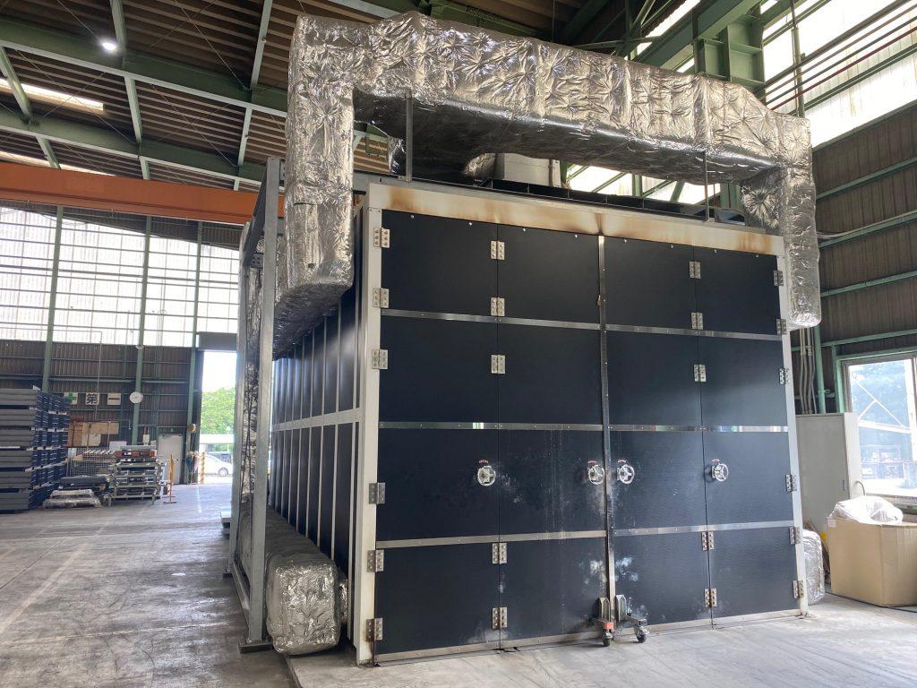 (株)佐々木鉄工ベンディング第二工場 焼付乾燥炉設置工事