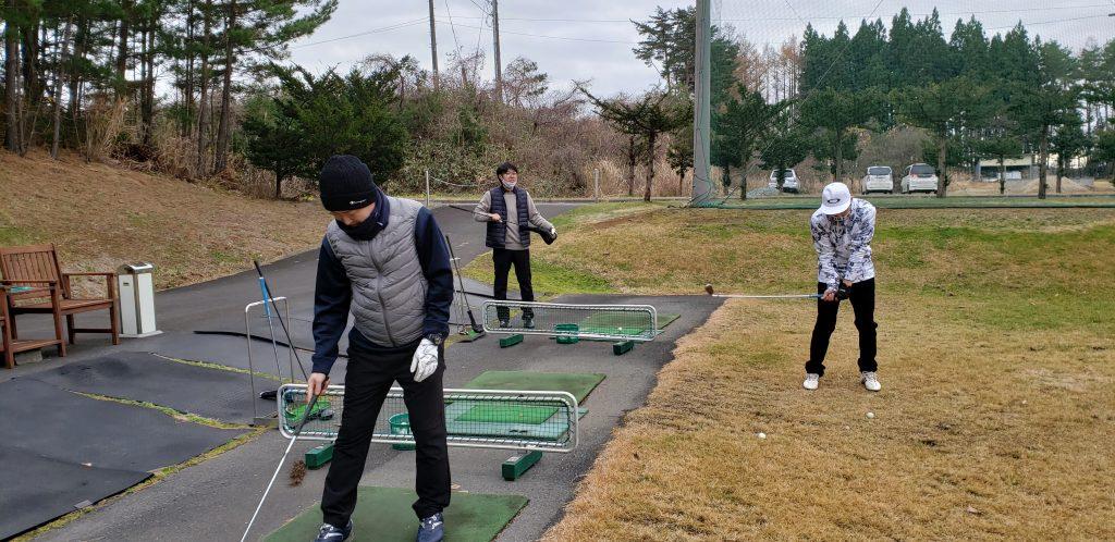 社内ゴルフコンペ!